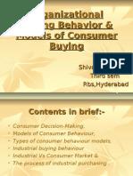 Models of CB & Industrial Buying Behaviour