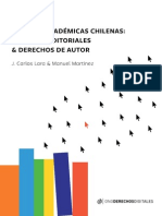 Revistas Académicas Chilenas