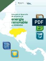 Guia Para El Desarrollo de Proyectos de Energia Renovable en Honduras