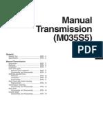 Hyundai HD78 D4GA Manual Transmission (M035S5)