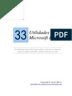 33 Utilidades Para Excel