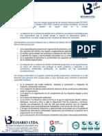 Actualización de Normas ISO 9001-14001 de 2015