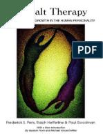 Gestalt Therapy Perls Frederick S