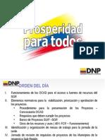 OCADs Municipales - SGR-octubre-1!2!2012 DNP