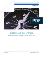 DNV-GL - GUIDELINE ON UWILD - Offshore Technical Guindance OTG-08 March 2014.pdf