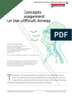 2011 Management of Difficult Airways