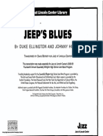 Jeeps Blues SCORE