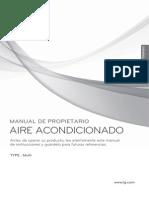 Manual de Usuario Aire acondicionado LG