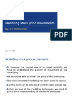 Stock Price Modelling