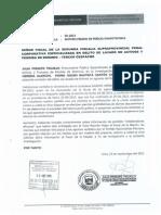 Julia Príncipe solicitó a Fiscalía que realicen prueba grafotécnica a agendas de Nadine Heredia