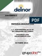 01.- Volumen I - Memoria Descriptiva