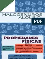 Nomenclatura de Compuestos Organicos-halogenuros de Alquilo