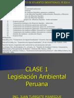 Clase 1 Normatividad Ambiental Peruana 1