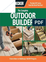 Black & Decker the Complete Outdoor Builder From Arbors to Walkways 150 DIY Projects