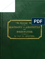 Hortaculture as Electricity Laemstromelcult