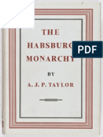 A. J. P. Taylor - The Habsburg Monarchy 1809-1918