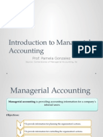 Chapter 1 - Introduction to Managerial Accounting