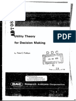 Utility Theory for Decision Making