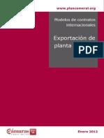 Modelo de Exportacion Planta  Llave en Mano