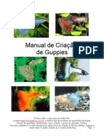 Manual de Criacao de Guppies