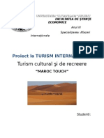 Turismul cultural si de recreere