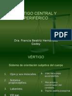 Vértigo Central y Periférico