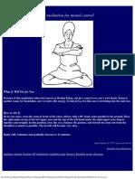 KY Mediation for Mental Control