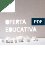 Folleto Oferta Educ Escuela Zaragoza