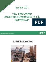 Entorno Macroeconomico y La Empresa
