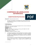 Legislación Antidrogas Peru