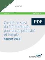Rapport Cice 22 septembre 2015