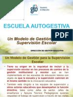Modelo Gestión Supervisión Escolar