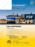 Cired 2013 Call for Papers Brochure