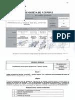 PR-IAD-DNO-De-01 Procedimiento Para El Ingreso de Mercancias Al Territorio Nacional 05-2015