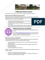Cliffwood School Council News - September 24, 2015