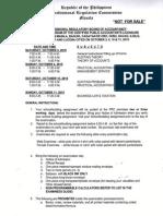 CPA1015bp October 2015 Certified Public Accountant Board Exam