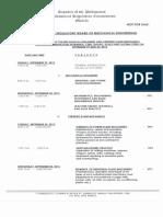 September 2015 Mechanical Engineer Board Exam