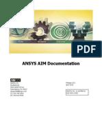 ANSYS AIM Documentation