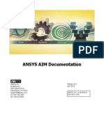 ANSYS AIM Documentation