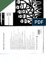 Durkheim - Sociologia e Educação