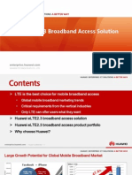 Huawei ELTE2.3 Broadband Access Solution Main Slides