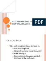 Nutrition for Oral and Dental Health PSKG