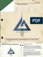 Manual de Juego Delta Force