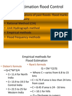 Flood Estimation