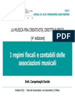 Campolunghi Regimi Fiscali Delle Associazioni Sola Lettura