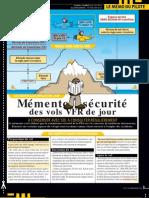 Memo Securite Vol VFR