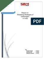 Volkswagen Marketing Strategies(1)