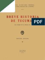 Breve Historia de Tucuman