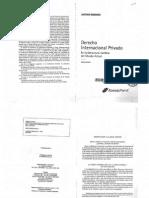 Derecho Internacional Privado - Antonio Boggiano - Parte I