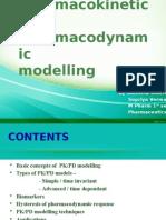 PKPD Pharmacokinetics and Pharmacodynamic Modelling